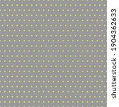 yellow polka dot seamless...   Shutterstock .eps vector #1904362633