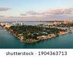 Miami Island North Bay Village Drone Photo