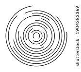 thin black line vortex of...   Shutterstock .eps vector #1904383369