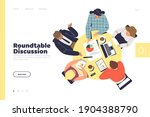 business discussion concept of... | Shutterstock .eps vector #1904388790