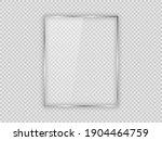 glass plate in vertical frame...   Shutterstock .eps vector #1904464759