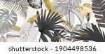 luxury green summer background... | Shutterstock .eps vector #1904498536