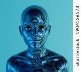 Robot Or Artificial Human Made...