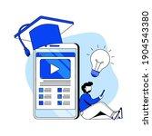 digital education platform flat ...