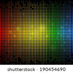 Colourful Glowing Dots Matrix...
