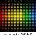 Colourful Glowing Dots Matrix...