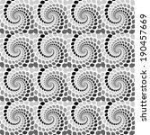 design seamless monochrome... | Shutterstock .eps vector #190457669