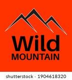 wild mountain simple vector...   Shutterstock .eps vector #1904618320