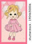 color illustration postcard...   Shutterstock . vector #1904650006