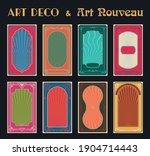 Art Deco And Art Nouveau...