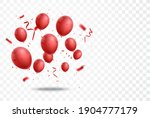 celebration banner with red... | Shutterstock . vector #1904777179