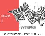 black and white design. pattern ... | Shutterstock .eps vector #1904828776