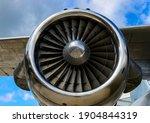 Turbine Motor Of A Historic Old ...