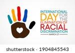 international day for the... | Shutterstock .eps vector #1904845543