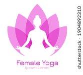 meditation vector logo  yoga... | Shutterstock .eps vector #1904892310