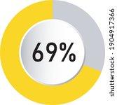 circle percentage 3d diagrams...