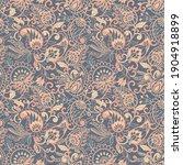 paisley ornamental seamless... | Shutterstock . vector #1904918899