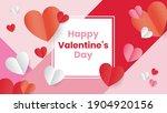 happy valentine day template...   Shutterstock .eps vector #1904920156