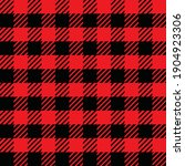 Red And Black Gingham....