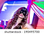 odessa   april 27  nightclub... | Shutterstock . vector #190495700