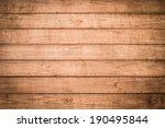 wood wall background | Shutterstock . vector #190495844