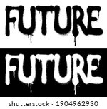 urban graffiti future slogan... | Shutterstock .eps vector #1904962930
