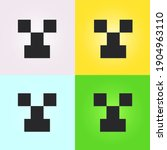 a set of colored squares with...