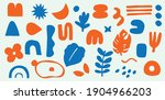 hand drawn cute icons in set ... | Shutterstock .eps vector #1904966203