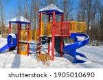 Outdoor Playground Jungle Gym...