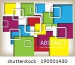 modern design | Shutterstock .eps vector #190501430