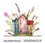 Watercolor Fairy Tale Cute...