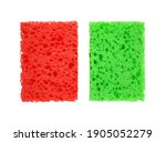 Red and green rectangular...
