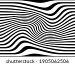 pattern with optical illusion.... | Shutterstock .eps vector #1905062506