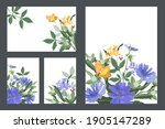 art floral greeting and... | Shutterstock .eps vector #1905147289