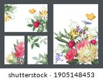 art floral greeting and... | Shutterstock .eps vector #1905148453