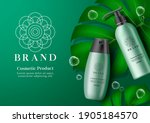 cosmetic products vector banner ...   Shutterstock .eps vector #1905184570