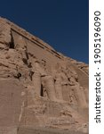 Abu Simbel Temple In Aswan Egypt