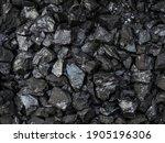 Large Shiny Chunks Of Black...