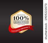 customer 100  satisfaction... | Shutterstock .eps vector #1905222073
