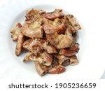 Grilled Pork Intestines....