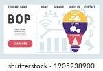 Vector Website Design Template ....
