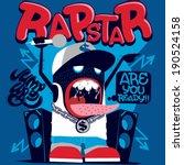 monster live performance | Shutterstock .eps vector #190524158