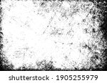 the grunge texture is black and ... | Shutterstock .eps vector #1905255979