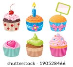 delicious assortment of... | Shutterstock .eps vector #190528466