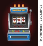 jackpot slot machine | Shutterstock .eps vector #190528478