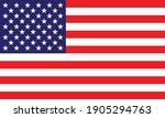 flag of the united states. star ... | Shutterstock .eps vector #1905294763