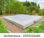 Concrete Foundation Next To...