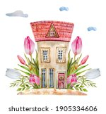A Watercolor Fairy Tale Cute...
