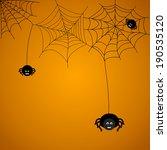 halloween background. the... | Shutterstock . vector #190535120