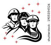 a sailor  a pilot  and a... | Shutterstock .eps vector #1905354526